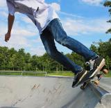 Обучение катанию на скейтборде