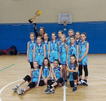 Электростальские баскетболистки завоевали золото