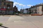 На улице Корешкова ведется благоустройство пешеходной зоны