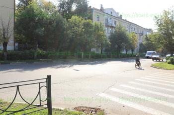 Перекресток улиц Николаева и Парковая