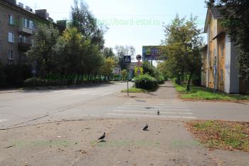 Перекресток Николаева и проезда Чернышевского
