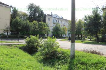 Перекресток улиц Николаева и Парковой