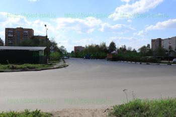 Перекресток улиц Юбилейной, Комсомольской и пр-да Мичурина