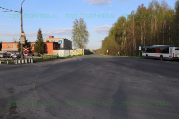 Остановка автобуса №12 ОАО «Контракт»