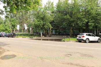 Вход со стороны улицы Комсомольская