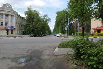 Перекрёсток улиц Советской и Октябрьской