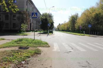Перекресток улиц Пушкина и Маяковского