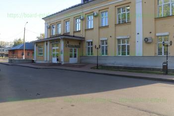 Вход в детское отделение