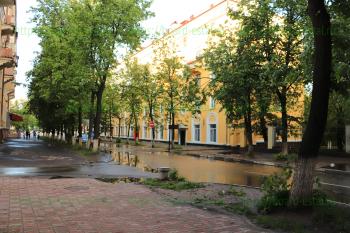 Дом 36 по пр-ту Ленина со стороны проезда Чернышевского