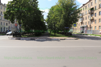 Перекресток улиц Советской и Пушкина