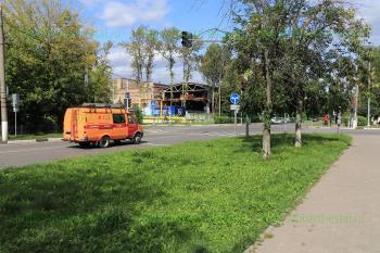 Перекресток улиц Советская и Красная