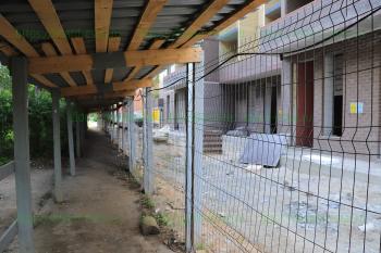 Стройка последнего дома в ЖК «Высоково»