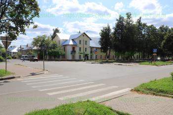Перекрёсток улиц Советской и Николаева