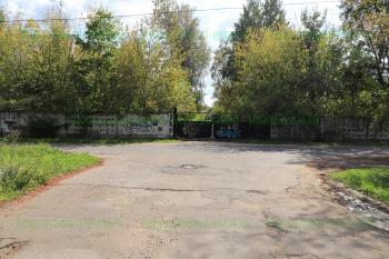 Ворота со стороны Больничного проезда