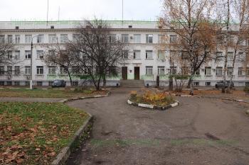 Территория ЭЦГБ на Пушкина 3