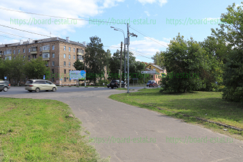 Перекресток улицы Советская и Фрязевского шоссе