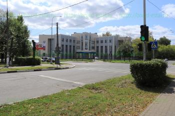 ИФНС №23, перекресток улиц Советской и Красной