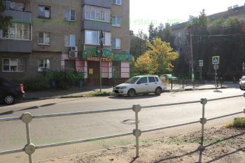 Магазин «Мишутка», перекресток улиц Пушкина и Жулябина