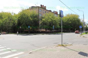 Перекрёсток улиц Советская и Первомайская