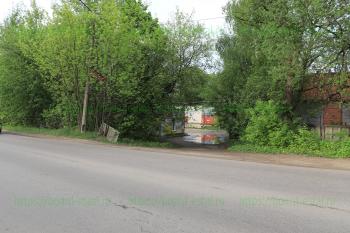 Бывший «Улей» на перекрестке с улицей Рабочая