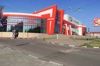 «Эльград» со стороны проспекта Ленина