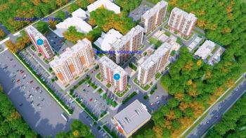 Схема ЖК «Северный квартал» в Электростали