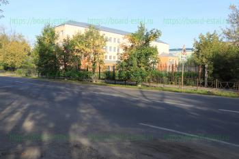 Со стороны улицы Комсомольская