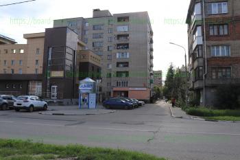 Перекресток улиц Первомайская и Маяковского