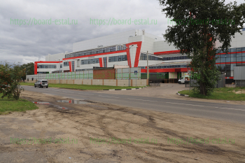 ТРЦ «Эльград» со стороны улица Северная