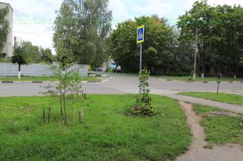 Переулок между улицами Первомайская и Красная