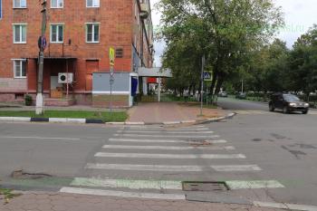 Перекресток улиц Мира и Радио