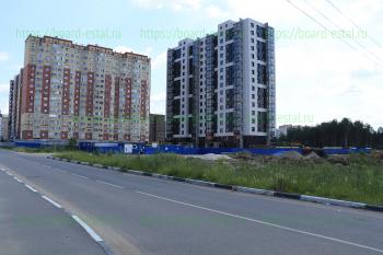 Строящийся дом со стороны Ногинского шоссе