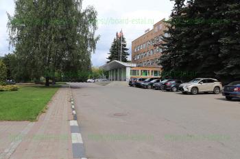 Вход в здание администрации