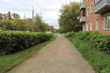 Перекресток с улицей Жулябина