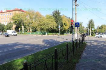 Перекрёсток улиц Мира и Тевосяна