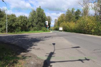 Перекресток улиц К. Маркса и Заводская