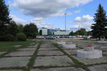 «Парк Плаза» со стороны ул. Мира