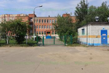 Вход на территорию школы