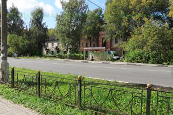 Автобусная остановка школа №3