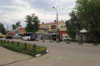 Маршрутное такси №120 на остановке ТД «Русь»