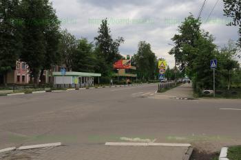 Перекресток улиц Карла Маркса и Спортивной