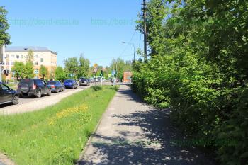 Перекрёсток улиц Комсомольская и Карла Маркса
