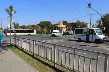 Перекресток улиц Ялагина, Победы и Фрязевского шоссе