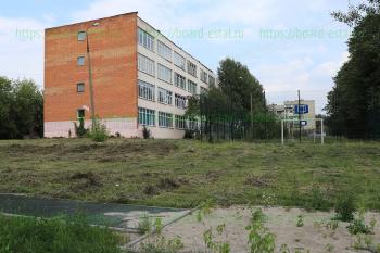 Игровая площадка на территории гимназии