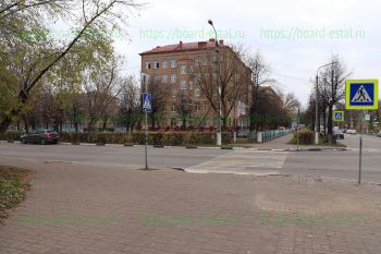 Школа №13 со стороны ул. Николаева