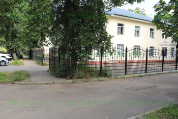 Территория и ограда